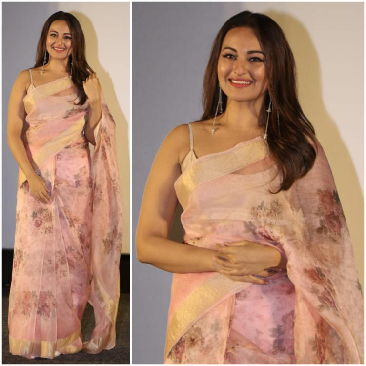 Sonakshi Sinha looks ethereal in a saree by Ekaya: Yay or Nay?