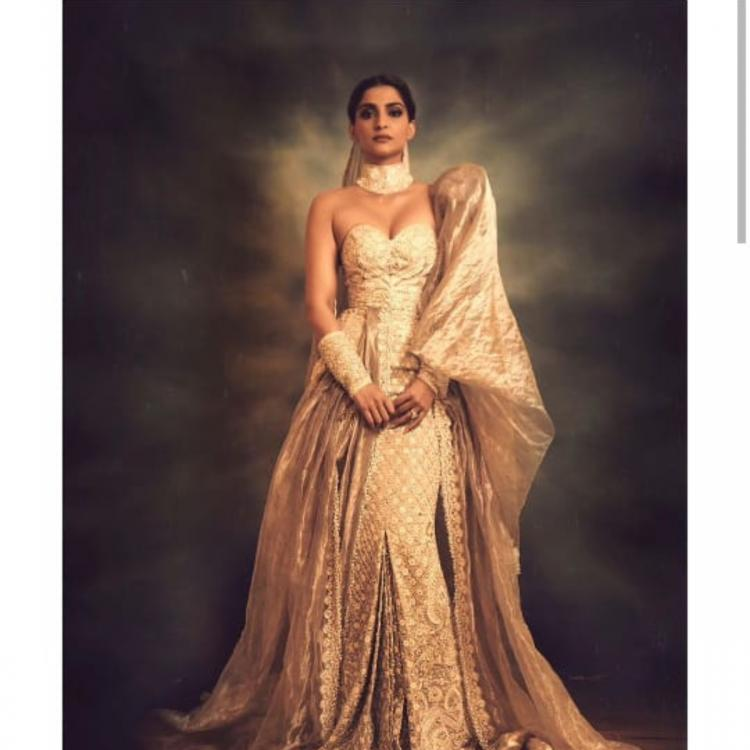 Cannes 2019: Sonam Kapoor makes for a perfect modern day maharani in this Abu Jani Sandeep Khosla couture