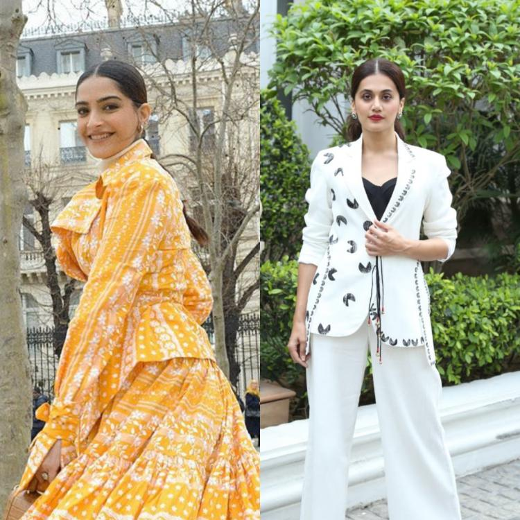 Sonam Kapoor calls Taapsee Pannu a clutter breaker; The latter says 'It takes all of us to break the clutter'