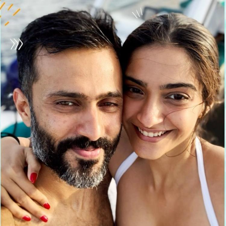 Sonam Kapoor expresses her love for hubby Anand Ahuja with a throwback photo taken 4 years back
