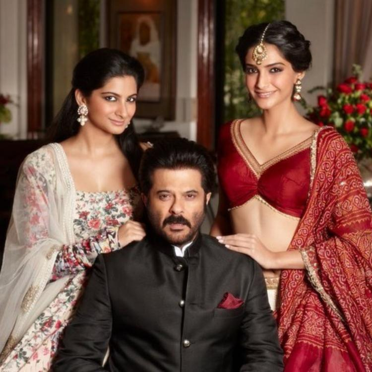 Sonam Kapoor wishes Anil Kapoor and her father in law a Happy Father's Day; Says 'I am because of you'