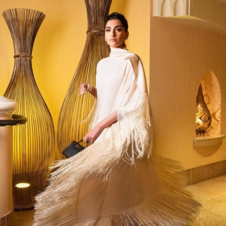 Sonam Kapoor's white tassel look wins the internet & we can't take our eyes off her; See PHOTOS