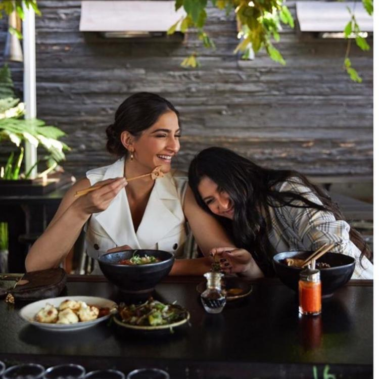 PHOTOS: Sonam Kapoor hangs out in LA 'like a local' with sister Rhea Kapoor; Check it out