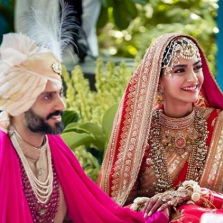 Sonam Kapoor & Anand Ahuja's wedding anniversary gets special as family members shower wishes; See POSTS