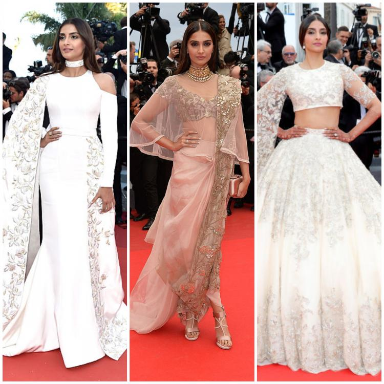 Cannes 2019: Sonam Kapoor's breathtaking looks from the Cannes red carpet over the years