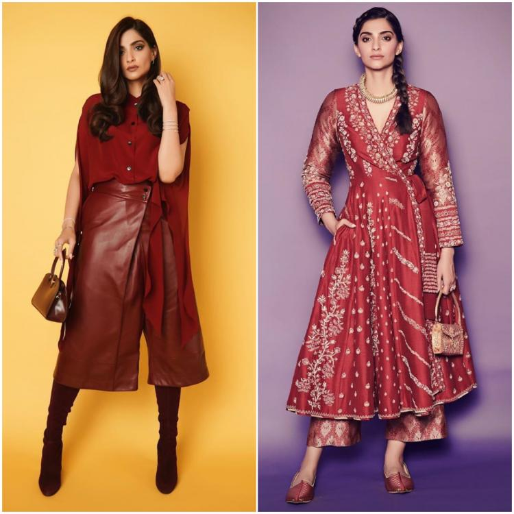 Sonam K Ahuja shows us how to wear EVERY outfit in red while promoting The Zoya Factor