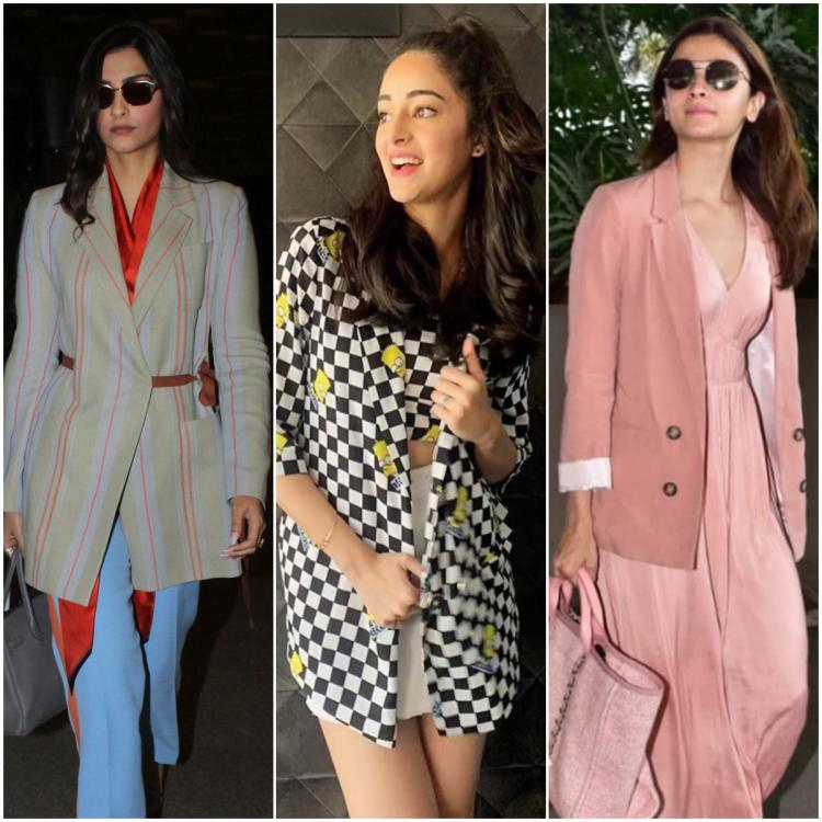 Sonam Kapoor, Ananya Panday, Alia Bhatt & more show you how to wear a blazer with ANY outfit and ace the look