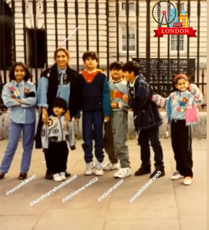 Arjun Kapoor and Sonam Kapoor prove they were born fashionistas as they take over London in throwback pic
