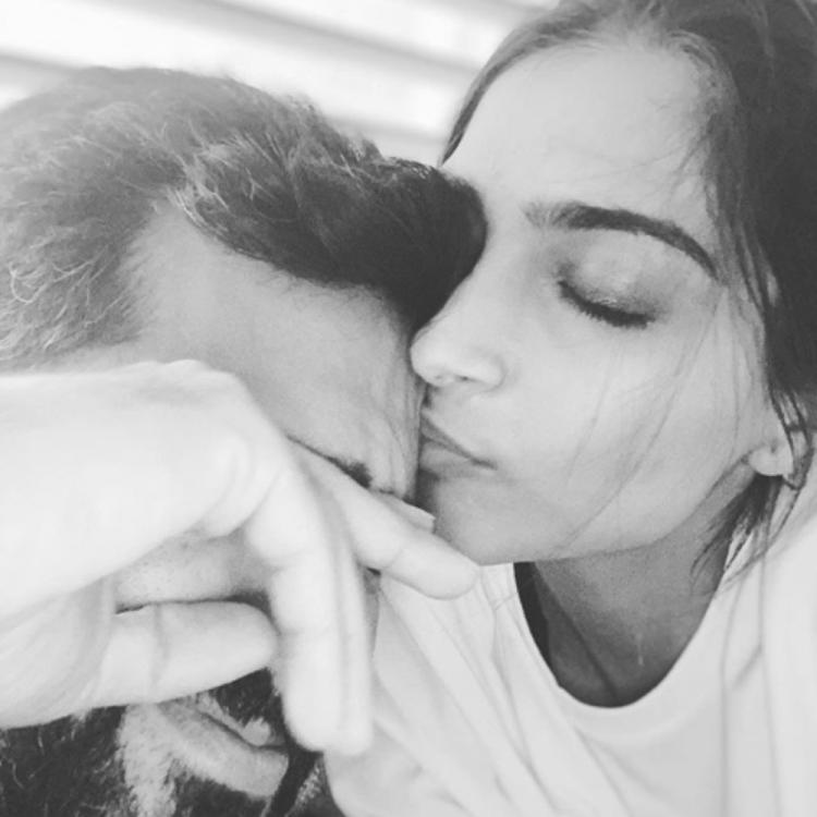 Sonam Kapoor shares a lovey dovey PHOTO with husband Anand Ahuja & internet is all hearts for them