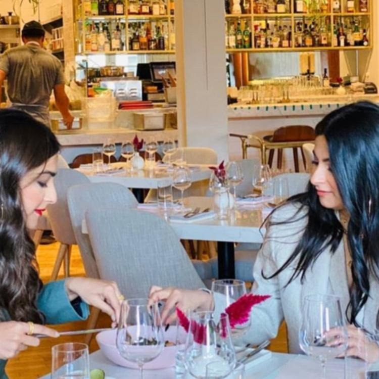 Sonam Kapoor Ahuja and sister Rhea Kapoor are giving out major sibling goals with their LA trip; view PHOTOS
