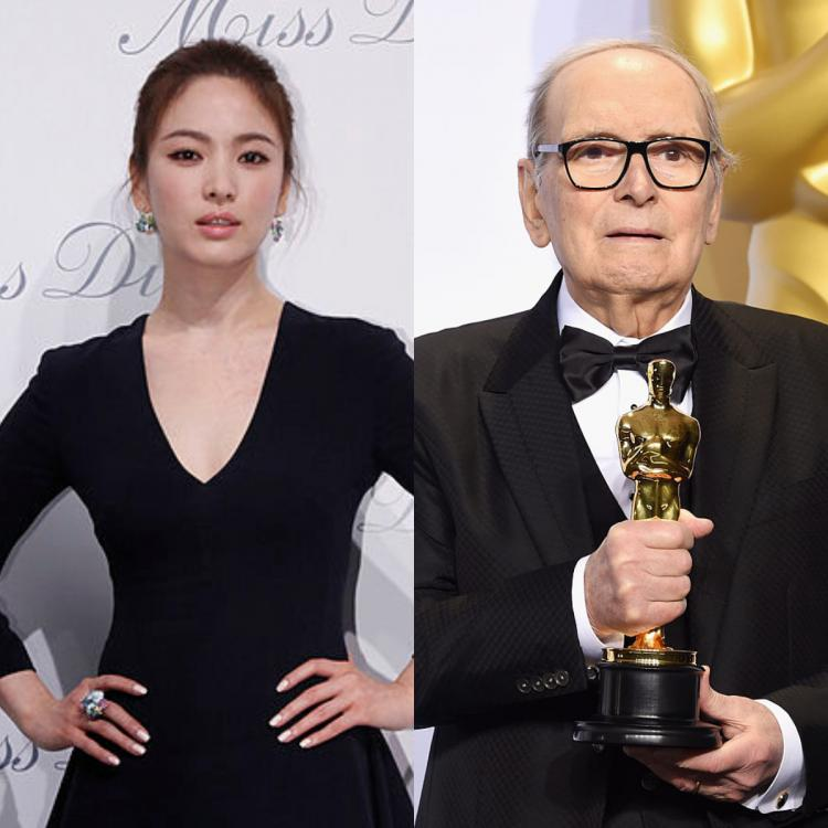 Song Hye Kyo remembers Oscar winning film composer Ennio Morricone who passed away at 91