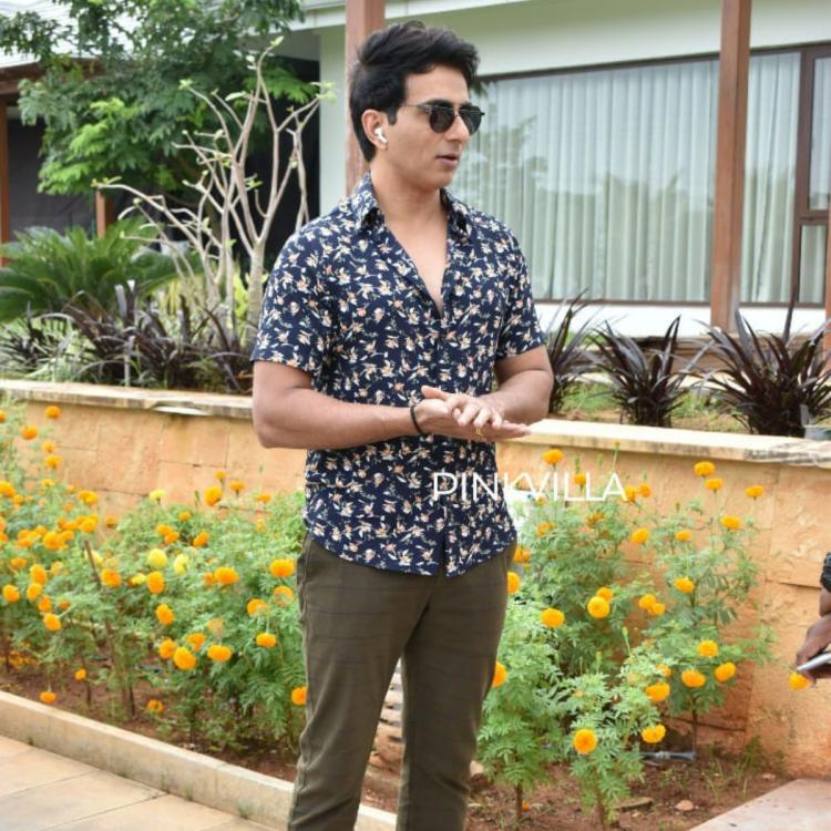 Sonu Sood spotted in Hyderabad