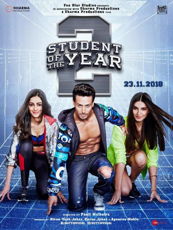 Student of the Year 2 Mid Movie Review: Tiger, Tara & Ananya's film has a predictable & shallow campus romance