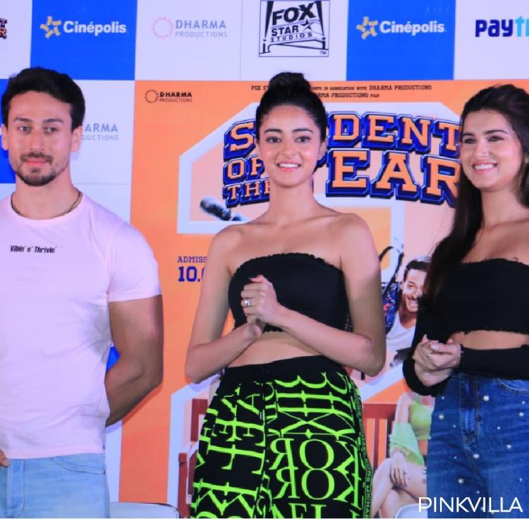 PHOTOS: The SOTY 2 trio Tiger Shroff, Tara Sutaria and Ananya Panday are all geared up to promote their film