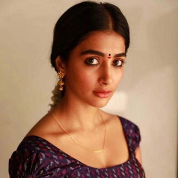 Pooja Hegde shares her look as 'Sridevi' from the movie Valmiki ahead of its release; View PIC