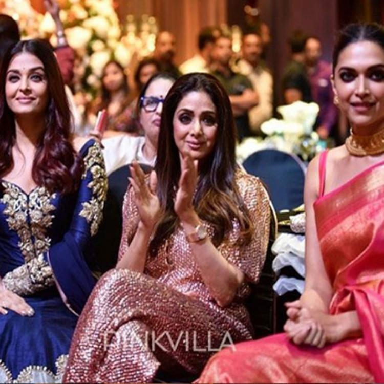 Throwback: When Sridevi, Deepika Padukone & Aishwarya Rai Bachchan were clicked in one frame for an iconic pic
