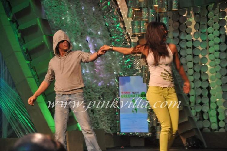 Photos,Priyanka Chopra,shah rukh khan,NDTV Greenathon 2012
