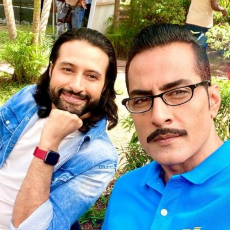 Sudhanshu Pandey shares picture with Apurva Agnihotri as they begin shooting