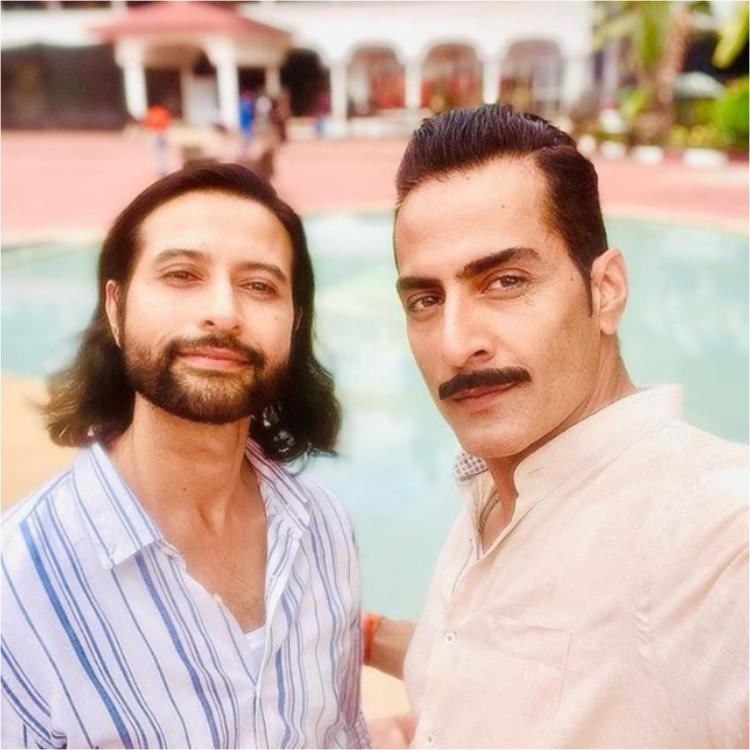 Sudhanshu Pandey reveals he has found an 'Angel' in co star Apurva Agnihotri as he posts a selfie with him