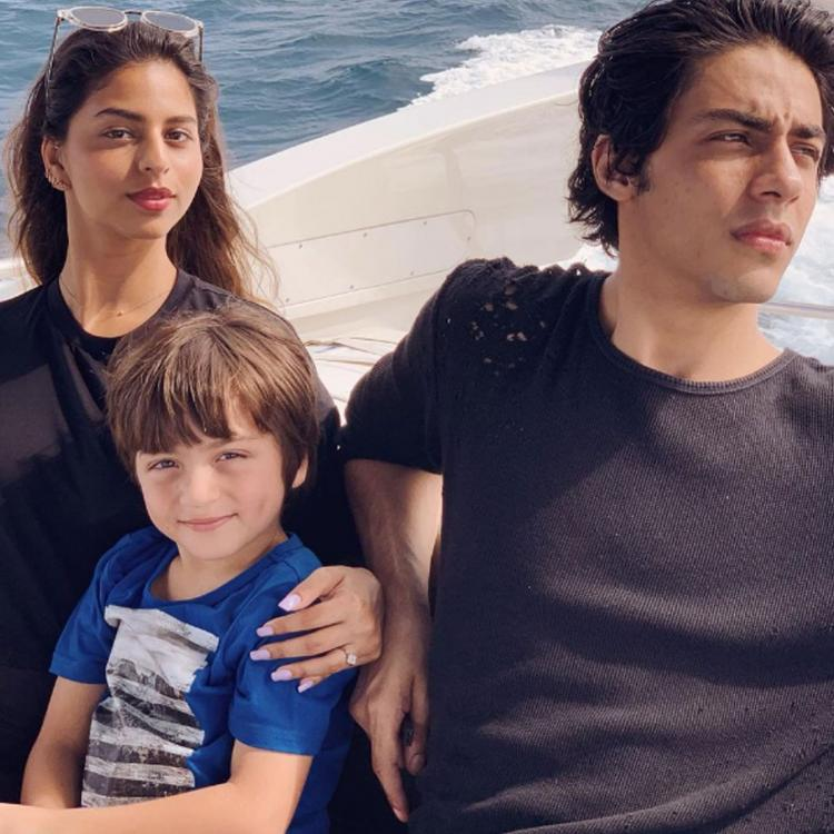 Suhana Khan's throwback pic with her brothers is all about sibling love
