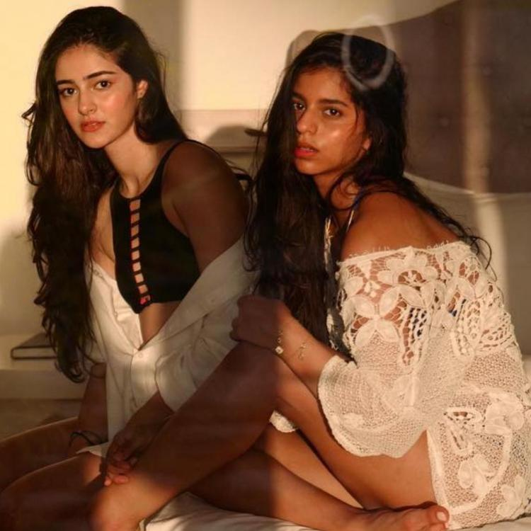 Suhana Khan coming to BFF Ananya Panday's aid to edit her photoshoot is every best friend ever; Take a look