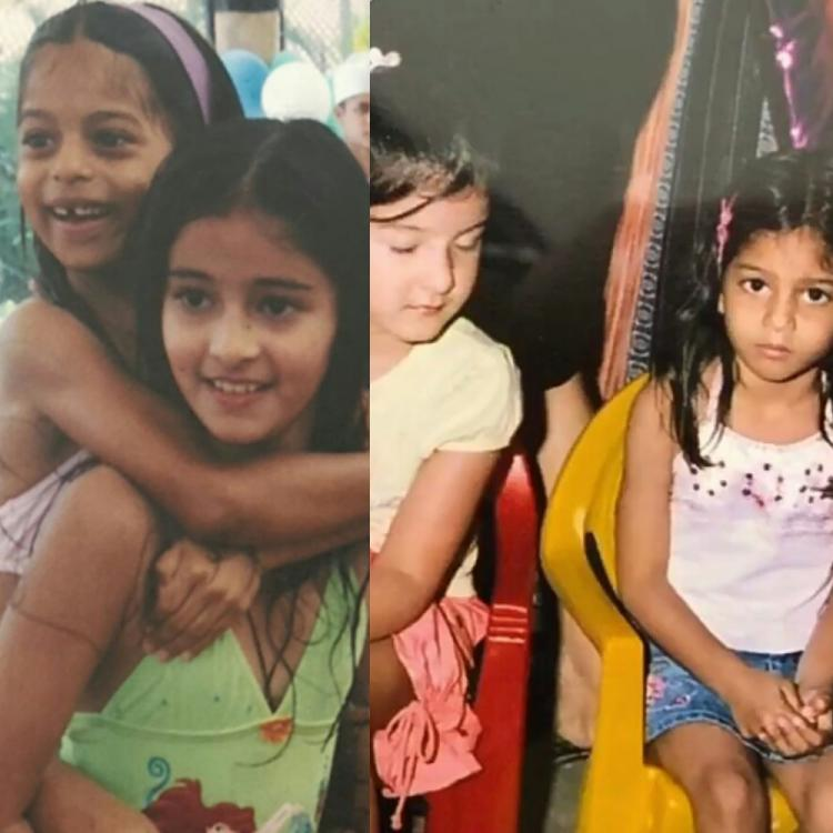 Suhana Khan's BFFs Ananya Panday & Shanaya have always got her back and THESE unseen childhood pics are proof