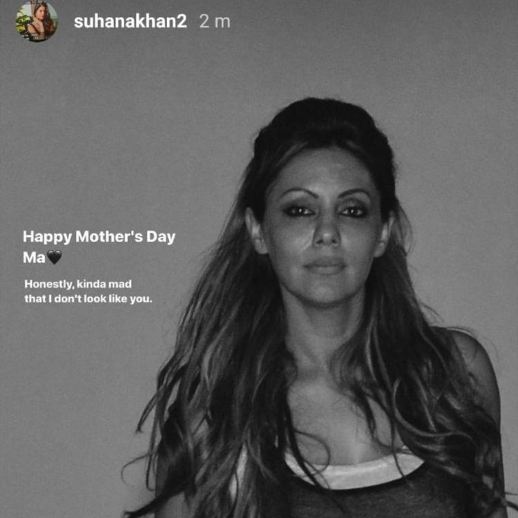 Suhana Khan is 'kinda mad' that she doesn't look like mum Gauri Khan as she wishes her on Mother's Day