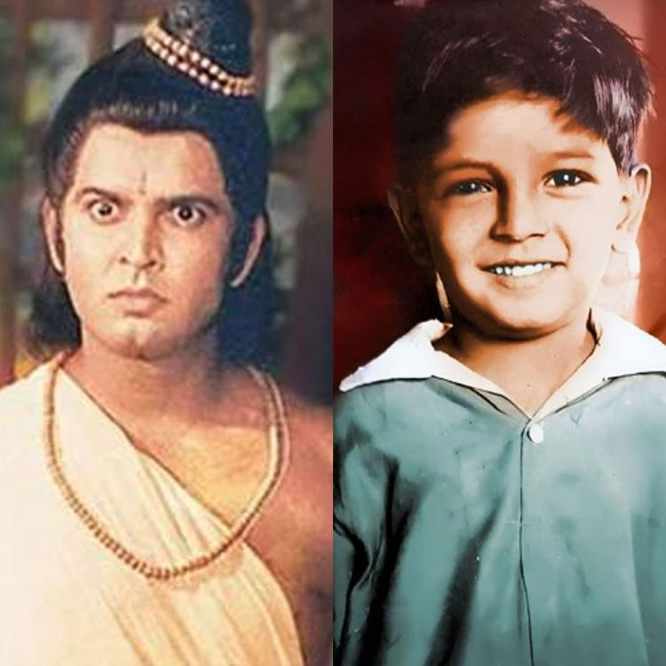 Ramayan's Sunil Lahri aka Laxman looks unrecognizable in THIS cute childhood photo; Take a look