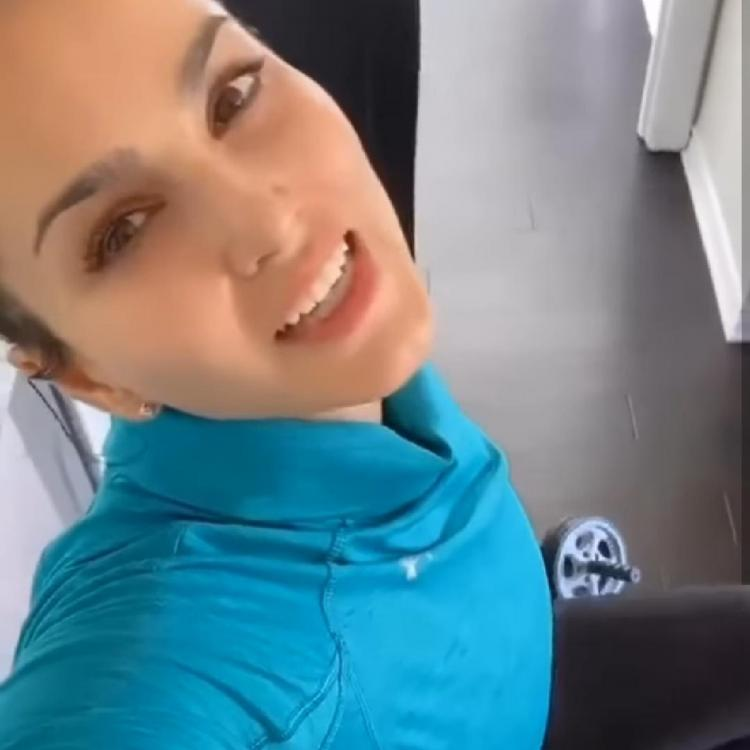 Sunny Leone gives fans major fitspiration with her latest post