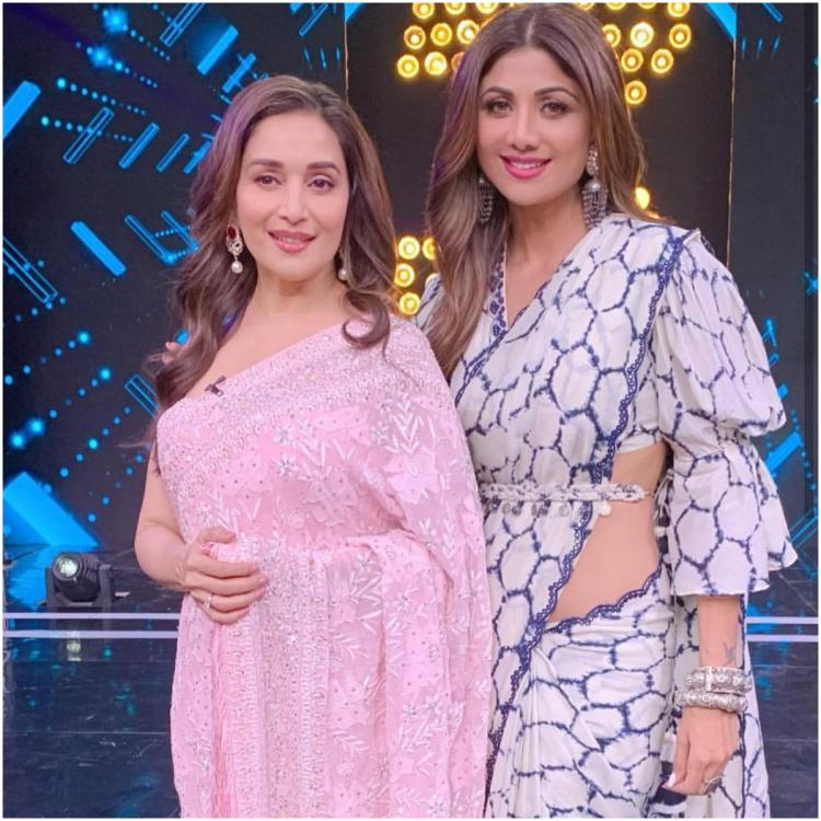 Madhuri Dixit tries Shilpa Shetty's famous Thumkas on Super Dancer Chapter 3: Watch to see if she matched up