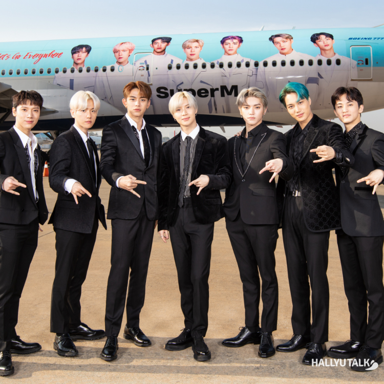 SuperM appointed as Korean Air's Global Ambassadors