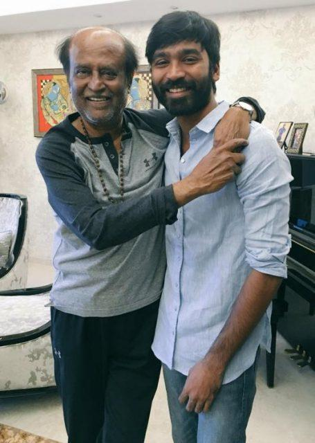 Superstar Rajinikanth and Dhanush to collaborate for their next?