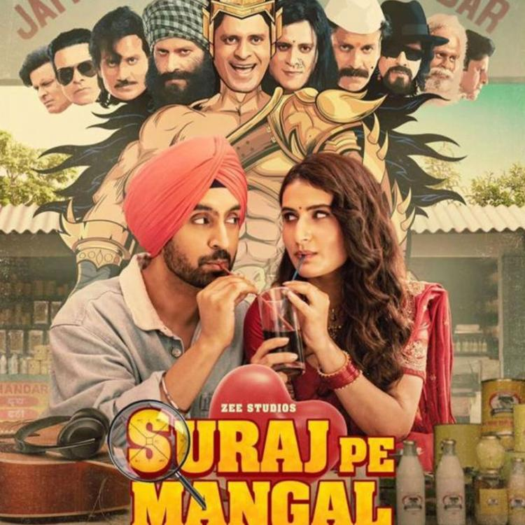Suraj Pe Mangal Bhari BO Collections Day 1: Diljit Dosanjh's film sees limited response after theatre re opens