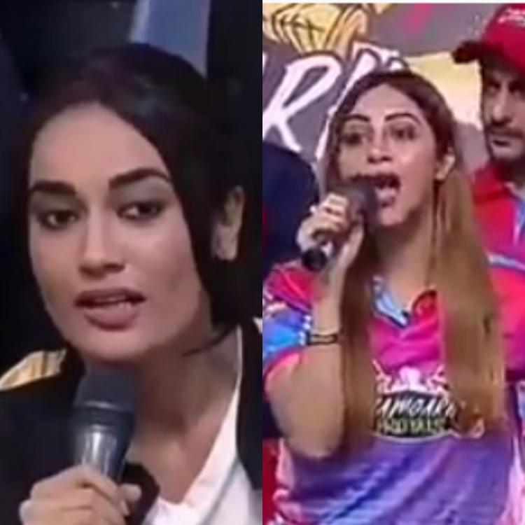 Naagin 3 fame Surbhi Jyoti gets in an argument with former Bigg Boss contestant Arshi Khan; Watch