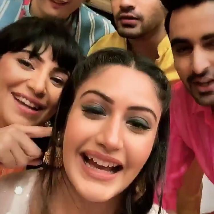 Sanjivani 2's Surbhi Chandna's epic banter with her co stars from the show will leave you in splits; WATCH