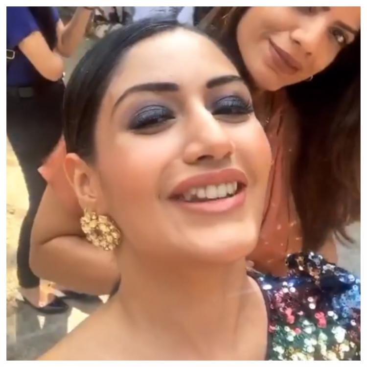 Sanjivani 2 actress Surbhi Chandna shares a good morning BTS video and she looks fresh as daisy; Check it out