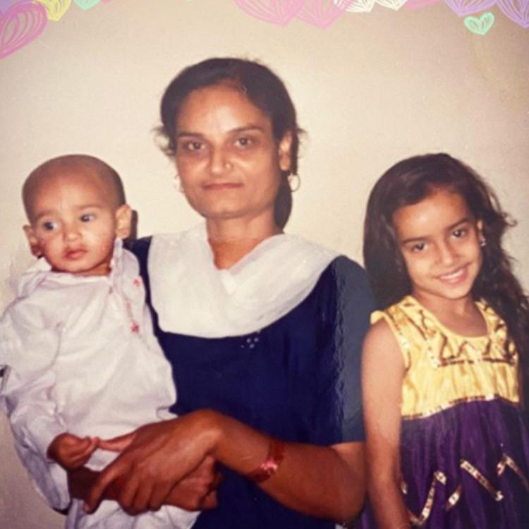Surbhi Jyoti shares an adorable childhood picture with her 'Mummy' as she expresses her love on Mother's Day