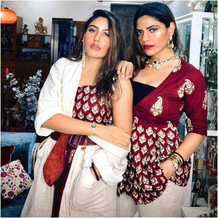 Surbhi Chandna and Pranavi Chandna twin for Raksha Bandhan; former's post will leave you laughing