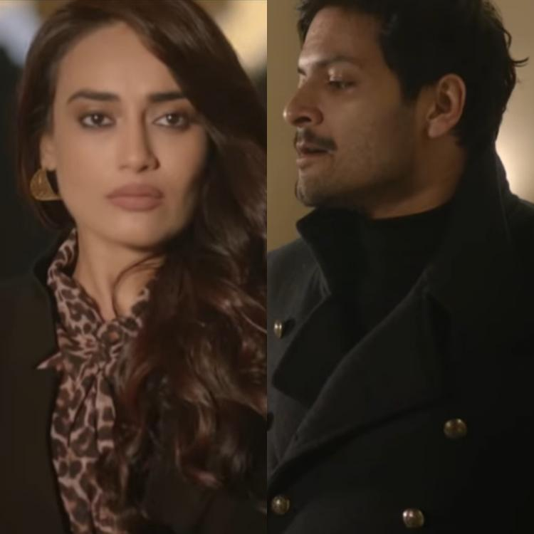 Surbhi Jyoti gives glimpse of her music video Aaj Bhi with Ali Fazal; Says Some experiences become part of you