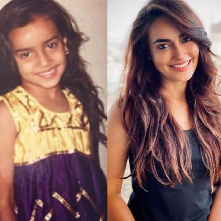 Surbhi Jyoti's then and now photos prove that the actress has kept up with the same head pose since childhood