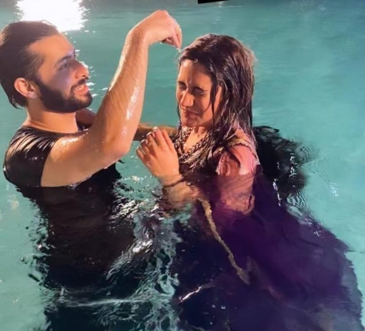 Naagin 5: Fans call Surbhi Chandna and Sharad Malhotra's pool scene from latest episodes as 'beautiful'