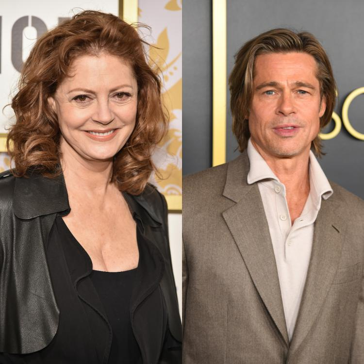 Susan Sarandon gets real about filming Thelma and Louise with Brad Pitt