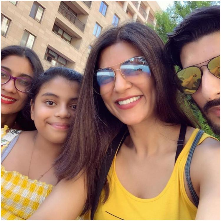 WATCH: Sushmita Sen shares a glimpse of her Armenian vacay with BF Rohman Shawl & daughters Alisah, Renee