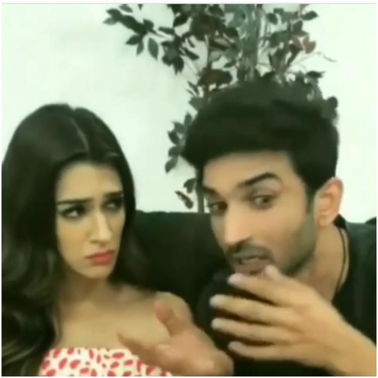 Sushant Singh Rajput and Kriti Sanon's goofy throwback video will leave you with bittersweet feelings