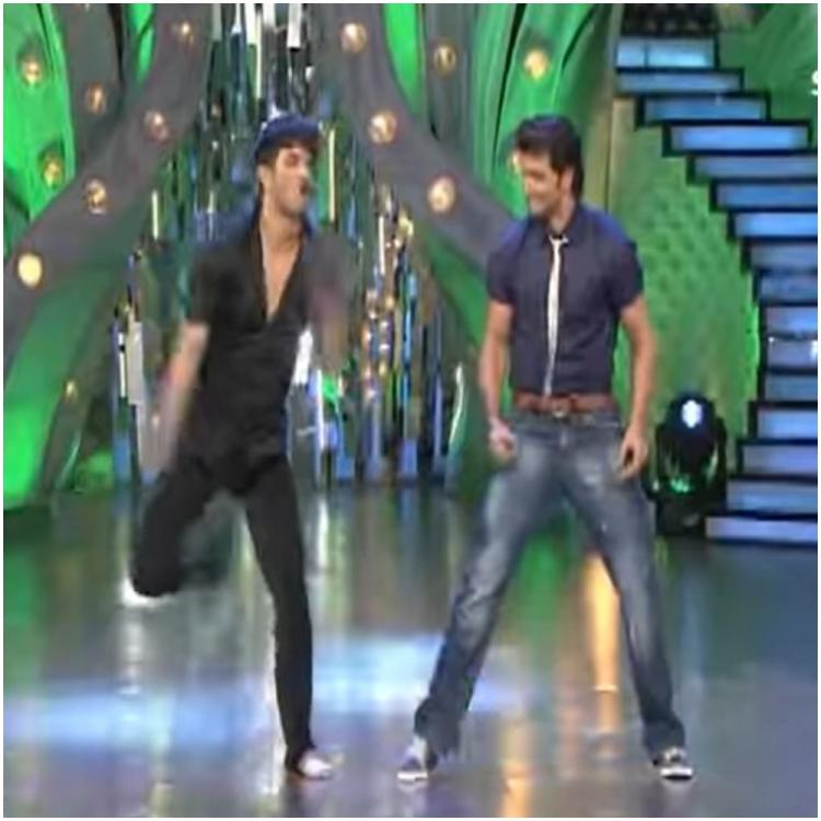 Sushant Singh Rajput grooving with Hrithik Roshan on Kaho Naa Pyaar Hai in a THROWBACK video cannot be missed