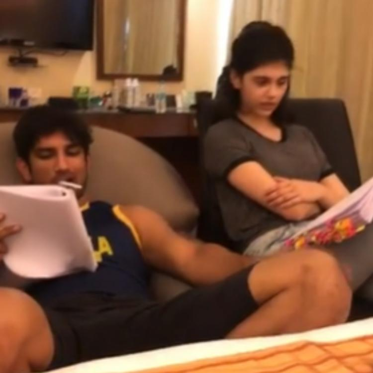 Sushant Singh Rajput in a reading with Sanjana and Dil Bechara team deserves your attention; Watch BTS video