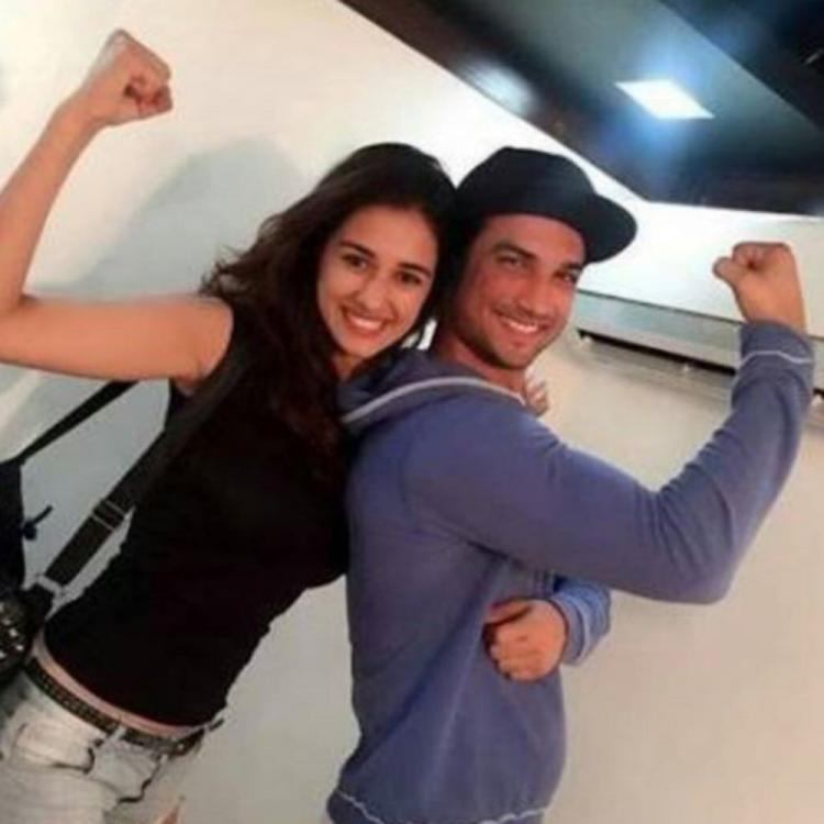 Sushant Singh Rajput posing with MS Dhoni co star Disha Patani in a throwback PHOTO will leave you emotional
