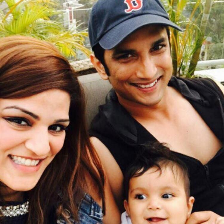 Sushant Singh Rajput with sister