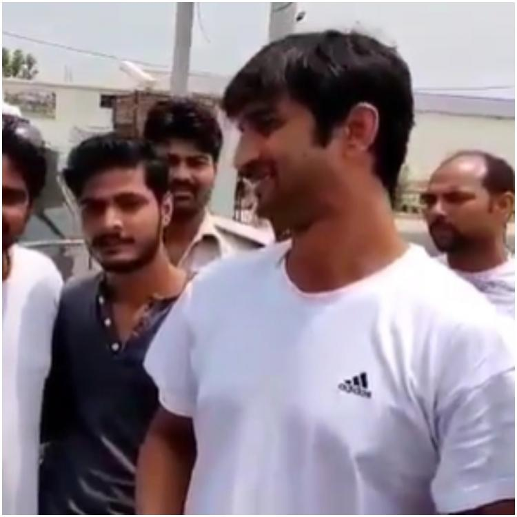 Sushant Singh Rajput stopping by to laud local talent crooning on road in an old video will make you emotional