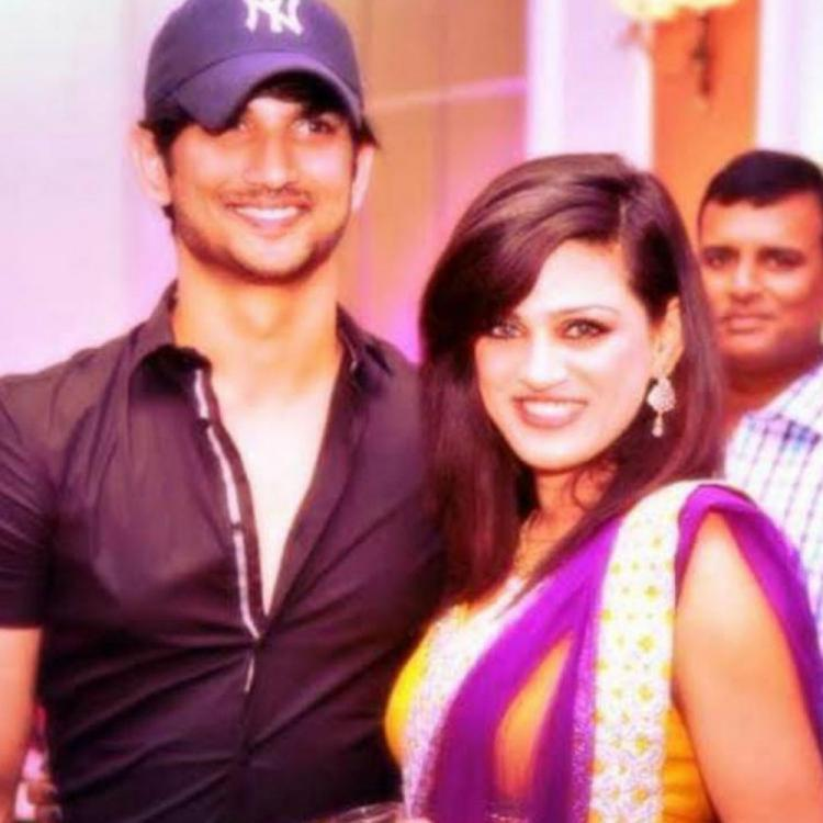 Sushant Singh Rajput's old photo with Shweta Singh Kirti from a family function